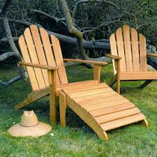 Smith And Hawken Teak Patio Chairs by Traditional Chair With Footrest Adirondack Walnut