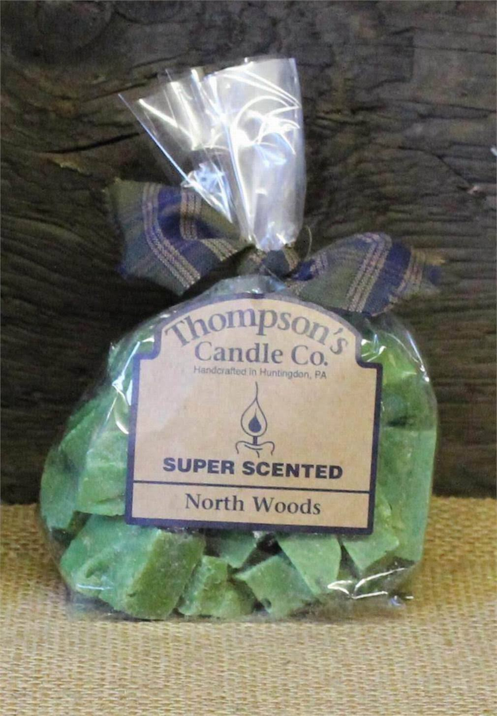Thompson Candle Co Super Scented Crumbles Tarts Wax Melts 6 oz North Woods