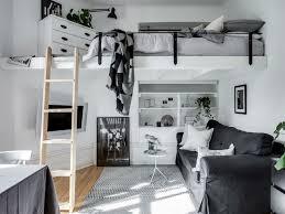 6 exciting tiny scandinavian studio loft