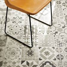 Elegant Patterned Vinyl Flooring Patterned Peel Stick Floor Tiles