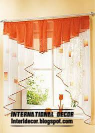 small curtains models for kitchens in different colors window