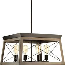 Lamps Plus San Rafael by Progress Lighting Briarwood Collection 4 Light Antique Bronze