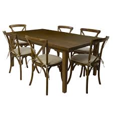 Rustic 6 Foot Table With Chairs | Event Rents Raven Farmhouse 6piece Ding Set The Dump Luxe Fniture 132 Inch Round Satin Tablecloth Black 6 Foot Farm Table Kountry Kupboards With 8 Chairs Foot Cedar Table Steves Creations Correll 30w X 72l Ft Counter Height 36h 34 Top Highpssure Laminate Folding Lifetime Foldinhalf White Granite 6foot Plastic Traing 2 Trapezoidal Back Stack Chairs Details About Portable Event Party Indoor Outdoor Weatherproof Buffet New Vintage Oak Refectory Kitchen And In Brnemouth Dorset Gumtree Banquet Seating Decor How To Up For Holiday Parties Lerado 6ft Foldin Half Rect Table Raptor Concept Store