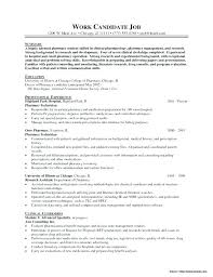 Pharmacy Technician Resume Example Sample For Hospital Tech Skills Pdf