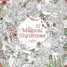 The Magical Christmas A Colouring Book Books Amazonin Lizzie Mary Cullen