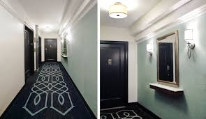 apartment building hallway interior design