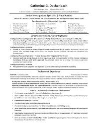 Sample Government Resume Format For Jobs