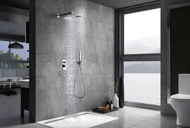 schweden chrom verdeckte dusche imex