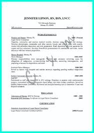 Mention Great And Convincing Skills Said CNA Resume Sample With Legal Nurse Consultant Report Template