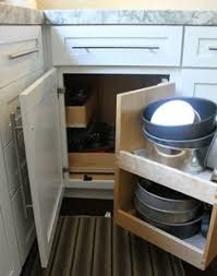 Blind Corner Kitchen Cabinet Ideas by Corner Kitchen Cabinet Solutions Lazy Swings And Kitchens