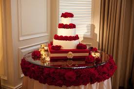 Remarkable Simple Wedding Cake Table Ideas 30 For Dessert With