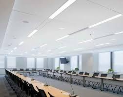 mineral fiber suspended ceiling tile acoustic luminous