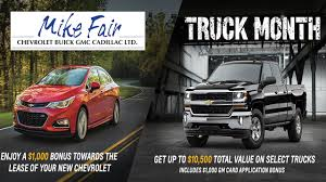 Mike Fair GM Truck Month Promotions And Specials Spring 2017 - YouTube Gmc Truck Month Extended At Carlyle Chevrolet Buick Ltd Sk Lease Specials 2017 Sierra 1500 Reviews And Rating Motor Trend Trucks Seven Cool Things To Know Deals On New Vehicles Jim Causley 2018 Colorado Prices Incentives Leases Overview Certified Preowned 2015 Slt4wd In Nampa D190094a 2012 The Muscular 2500hd Pickup Lloydminster 2019 To Debut In Detroit Next Classic Cars First Drive I Am Not A Chevy Mortgage Broker