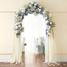 7 Foot Tall White WEDDING ARCH Garden Arbor Indoor Outdoor Wedding Decor