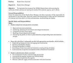 Store Manager Resume Examples Automotive Clothing Example Grocery Samples