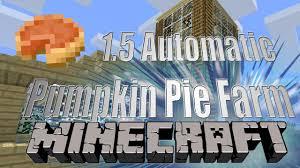 Minecraft Pumpkin Pie Nerdy Nummies by Minecraft 1 5 Pumpkin Pie Factory Youtube