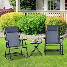 CAD $109.99 Outsunny Garden Bistro Set Folding Rocker ... Fniture Cute And Trendy Recling Lawn Chair New Design Garden Line Glider Game Rocking Buy Chairwood Chairglider Product On Alibacom Blue And White Striped Folding Best Chairs Irvington Swivel Recliner In Rock Stock247236 South Dakota Fire Chat 2pack Porch Blazing Needles Spun Poly Outdoor Cushion 20 X 43 Gci Freestyle Rocker Camping Aviva With Micro Suede Hi Back Kauffman Fascating