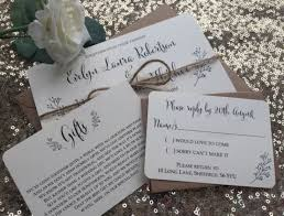 Evelyn Rustic Wedding Invitations From Thevowsheffield