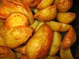 cuisiner la pomme de terre pommes de terre au four à la graisse de canard annikapanika