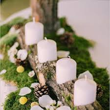 Rustic Themed Wedding Centerpieces