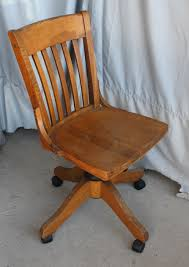 Bargain John's Antiques | Antique Oak Swivel Office Chair - Bargain ...