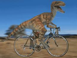 Dinosaur Bicycle GIF