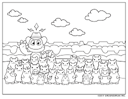 Signal Coloring Sheet With Hamstersn Could Be Good To Keep