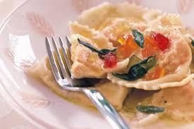 Pumpkin Ravioli Filling Ricotta by Pumpkin Ravioli With Sage Butter