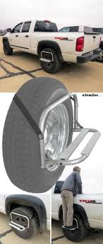 100 Steps For Truck Wheel Mount Tire Step Projects To Try S Bed