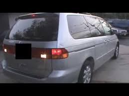 2003 honda odyssey transmission failure youtube