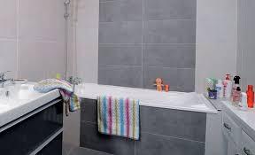 incroyable carrelage mural salle de bain pour renovation baignoire