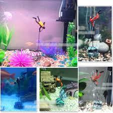 Spongebob Fish Tank Ornaments by Perfect Treasure Diver Action Figure Fish Tank Ornament Aquarium