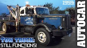1959 Autocar Diesel Rusted Old Tow Truck Start Up, Tow Show 2011 ... Washington Dc Circa 1920 Grove Lime Coal Co Our Latest Towtrucktuesday Twitter Search Towing Tow Truck Roadside Assistance 2 Police Officers City Worker Struck By Speeding Vehicle Daf Fag Cf 400 Blau Meiller Abkip Ak 16 Ntg Bas Trucks Gallery Aone Best Company Filevideo The Streetcar 11361954833jpg Wikimedia How To Make A Battery Powered With Motor Easy Simple 1988 Ford F450 Super Duty Tow Truck Item Dc8428 Sold Ja Finder