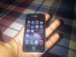 Black Iphone 4s For Sale Phone Internet Market Nigeria