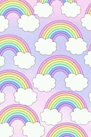 0 450x600 Pastel Rainbow Unicorn Galaxy Wallpapers Unicorns 500x750 Rainbows Pattern Patterns Pastels
