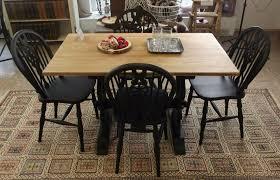 essgruppe tisch stühle antik vintage landhaus