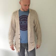 bulky cardigan linen and cotton chunky oversized cardigan