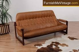 Percival Lafer Brazilian Leather Sofa by Percival Lafer Mid Century Modern Leather Sofa