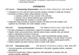 Gallery Of Summer Job Resume Pretty Sample A Good Format S
