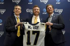 McVay Works On Fixing — Surprise! — The Rams' Offense   NFL ... Rhaney Is Next Man Up For Battered Oline Nfl Stltodaycom Report Rams To Resign C Barnes Tim American Football Player Photos Pictures Of 2016 Roster Preview Las Road Grader Turf 2015 Free Agency St Louis Resign Cog Los Angeles Offseason In Review Getting Know The Cleveland Browns Opponent Looking At The 53man Entire Funds Thanksgiving Distribution Feed 2000