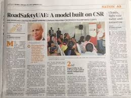 2017 Feb 20 Gulf News RSU CSR Article