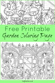 20 Free Gardening Adult Coloring Pages