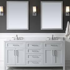 70 Bathroom Vanity Single Sink by Beachcrest Home Caldwell 60 Double Bathroom Vanity Set With Mirror