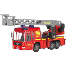 Dickie Toys Light And Sound SOS Fire Engine Vehicle With Working ... Bruder Toys Scania Rseries Fire Engine Truck With Working Water Amazoncom Velocity Super Rescue 24 Hour Remote Control Mack Granite Ladder Pump And Dickie Light Sound Sos Vehicle Fast Lane Rc Fighter Toysrus Best Of L Fire Trucks Refighters Ladder Big Rc With 02770 Man Crane Action Wheels Shop Your Way Online Mb Sprinter English Brigade Big Size Full Functions