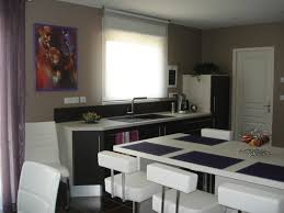 decoration salon cuisine ouverte deco cuisine americaine indogate decoration salon cuisine