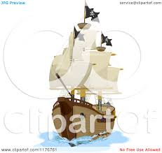100 Design A Pirate Ship Cartoon Of A Royalty Free Vector Clipart By