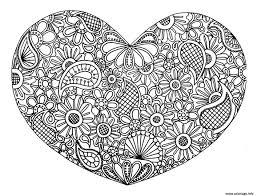 Dessin A Colorier Coeur Colorier Les Enfants Marnfozinecom