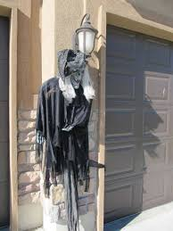 Scary Halloween Props Diy by Scary Outdoor Halloween Decorations Diy
