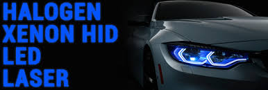headlights halogen vs xenon vs led vs laser vs conversion