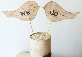 Rustic Wedding Ideas Woodland Weddings By Etsy We Do Cake Toppers